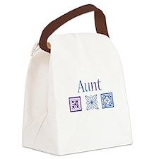 Crafty Aunt Canvas Lunch Bag