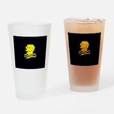 Yellow Dog Democrat Drinking Glass