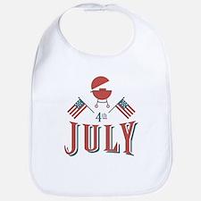 4th July Barbeque Bib