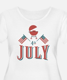 4th July Barbeque T-Shirt