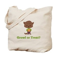 Growl or Treat Tote Bag
