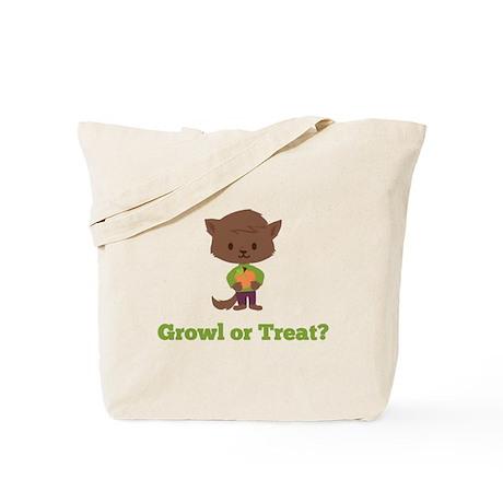 Growl or Treat Tote Bag