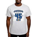 Statehood Utah Ash Grey T-Shirt