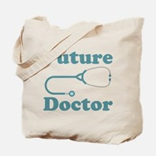 Future Doctor With Stethoscope Tote Bag