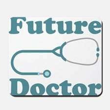 Future Doctor With Stethoscope Mousepad