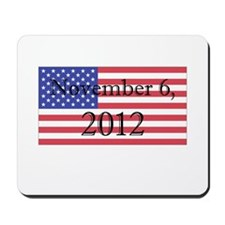 Election Day Shirt Mousepad
