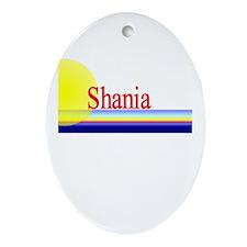Shania Oval Ornament