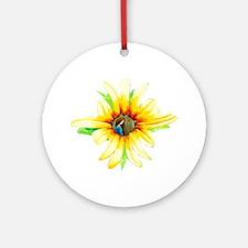 Daisy Girl Ornament (Round)