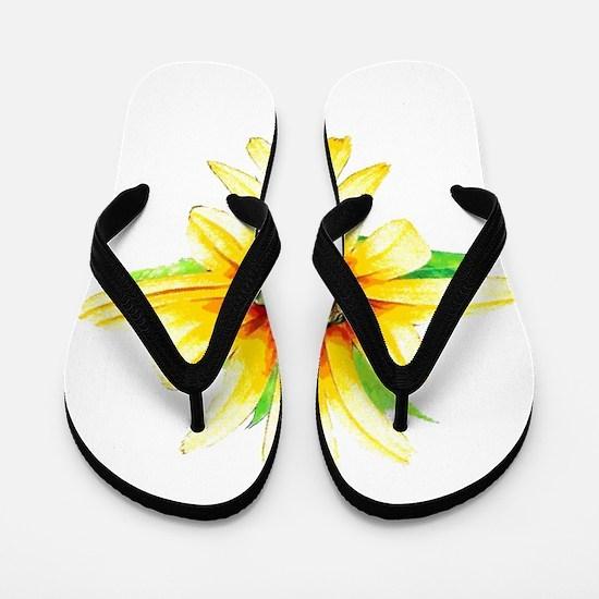Daisy Girl Flip Flops