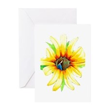 Daisy Girl Greeting Card