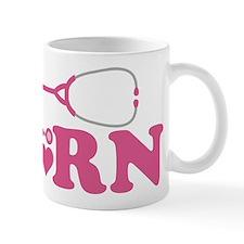 Heart RN Stethoscope Small Mug