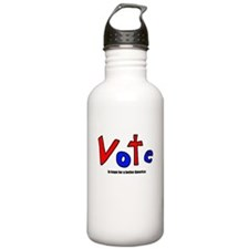 Vote - In Hope For A Better America Water Bottle