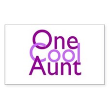 One Cool Aunt Decal