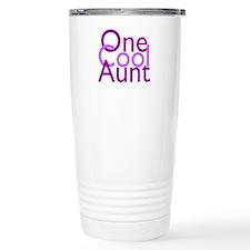 One Cool Aunt Travel Mug