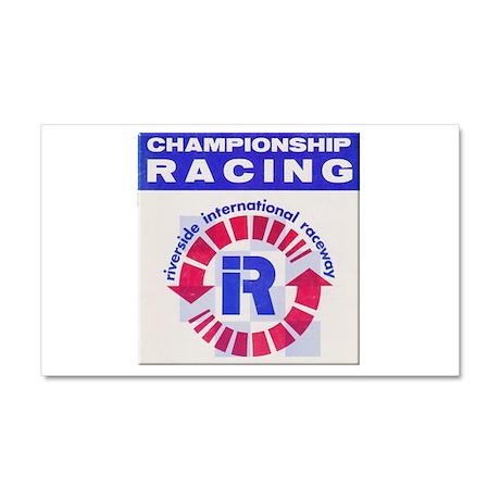 Riverside Raceway Car Magnet 20 x 12