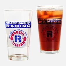 Riverside Raceway Drinking Glass