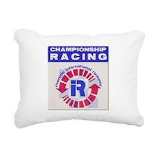 Riverside Raceway Rectangular Canvas Pillow