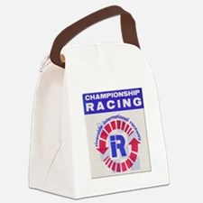 Riverside Raceway Canvas Lunch Bag