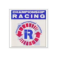 """Riverside Raceway Square Sticker 3"""" x 3"""""""