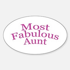 Most Fabulous Aunt Decal