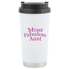 Most Fabulous Aunt Travel Mug