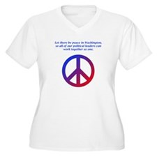Peace In DC T-Shirt