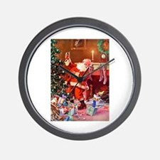 It Was The Night Before Christmas Wall Clock