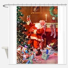 It Was The Night Before Christmas Shower Curtain