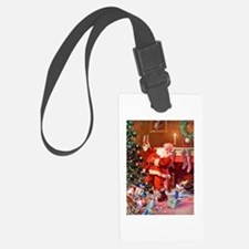 It Was The Night Before Christma Luggage Tag