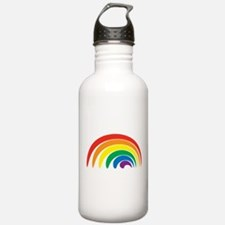 Funky Rainbow Water Bottle