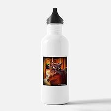 Burmese Cat, close up Water Bottle