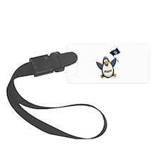 Maine Penguin Luggage Tag