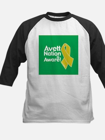 Avett Nation is Aware Kids Baseball Jersey