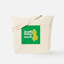 Avett Nation is Aware Tote Bag