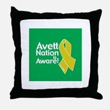 Avett Nation is Aware Throw Pillow