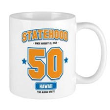 Statehood Hawaii Small Mug
