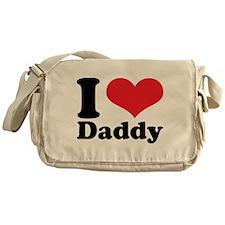 I Heart Daddy Messenger Bag
