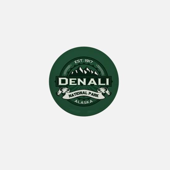 Denali Forest Mini Button