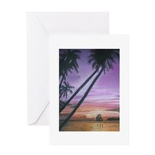 Sailing Through Paradise Greeting Card