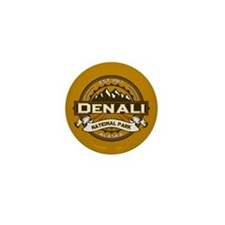 Denali Goldenrod Mini Button