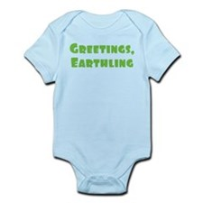 Greetings Earthling Infant Bodysuit