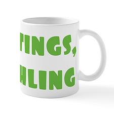 Greetings Earthling Small Mug