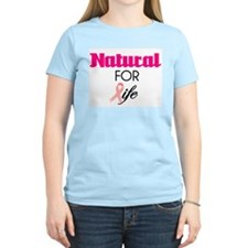Breast Cancer Natural Survivor Tee T-Shirt