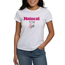 Breast Cancer Natural Survivor Tee Tee