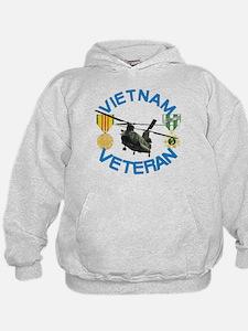 Chinook Vietnam Veteran Hoodie