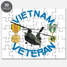 Chinook Vietnam Veteran Puzzle