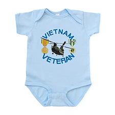 Chinook Vietnam Veteran Infant Bodysuit