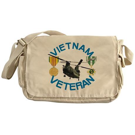 Chinook Vietnam Veteran Messenger Bag