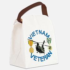 Chinook Vietnam Veteran Canvas Lunch Bag