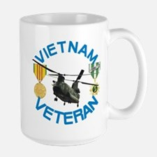 Chinook Vietnam Veteran Large Mug